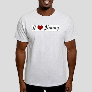I love Jimmy Light T-Shirt