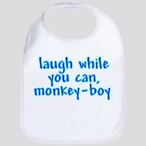 Monkey Boy Bib
