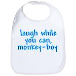 Monkey Boy Bib