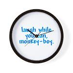 Monkey Boy Wall Clock