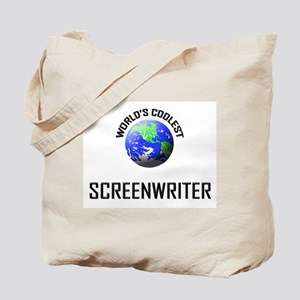 World's Coolest SCREENWRITER Tote Bag