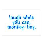 Monkey Boy Postcards (Package of 8)