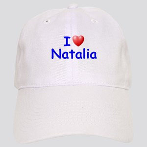I Love Natalia (Blue) Cap