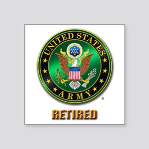 U.S. ARMY RETIRED Sticker