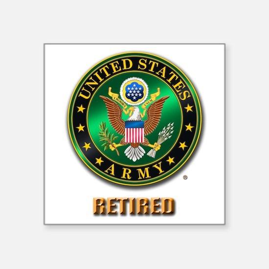 U.S. ARMY RETIRED Sticker
