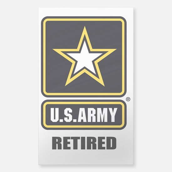 Army ret Decal