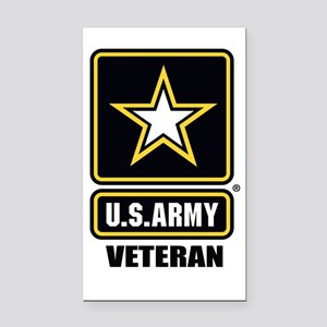 Army vet Rectangle Car Magnet
