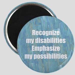 Disability Awareness Motivati Magnet