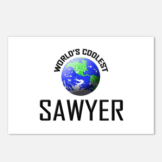 World's Coolest SAWYER Postcards (Package of 8)