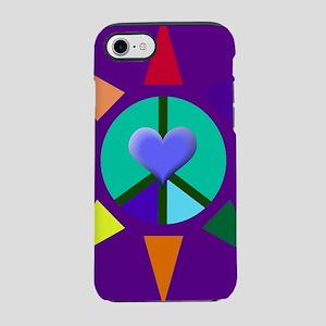Peace Star iPhone 8/7 Tough Case