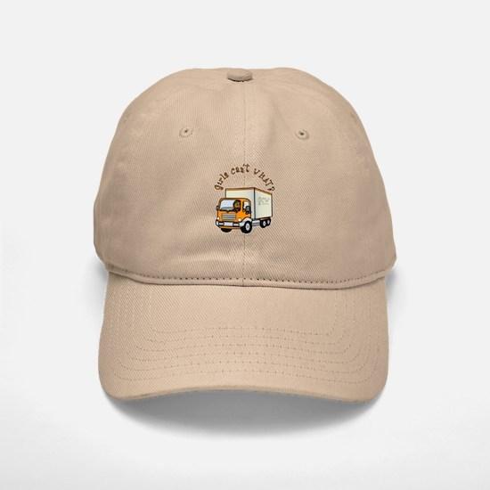 Dark Truck Driver Baseball Baseball Cap