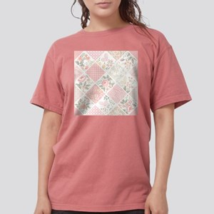 Patchwork Quilt Womens Comfort Colors Shirt