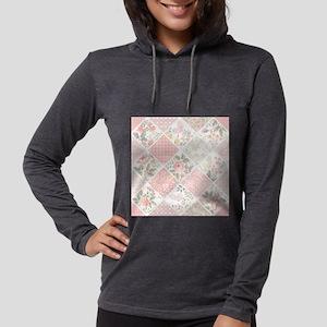 Patchwork Quilt Womens Hooded Shirt