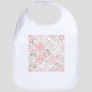 Patchwork Quilt Cotton Baby Bib