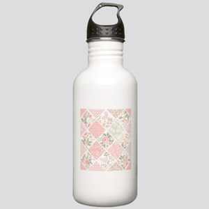 Patchwork Quilt Stainless Water Bottle 1.0L