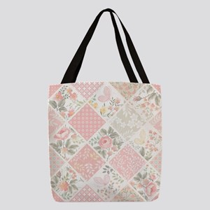 Patchwork Quilt Polyester Tote Bag