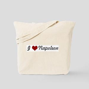 I love Napoleon Tote Bag