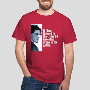 """Chekhov """"The Critics"""" Dark T-Shirt"""