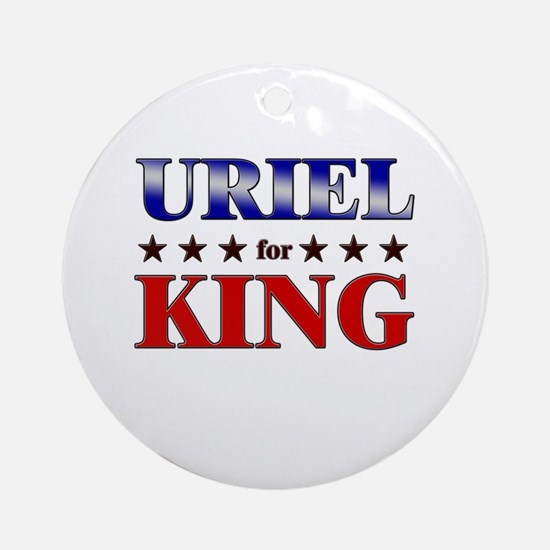 URIEL for king Ornament (Round)