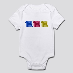 Color Row Welsh Terrier Baby Bodysuit