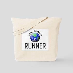World's Coolest RUNNER Tote Bag
