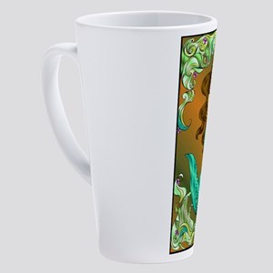 Best Seller Merrow Mermaid 17 oz Latte Mug