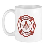 Colorado Masons Fire Fighters Mug