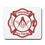 Colorado Masons Fire Fighters Mousepad