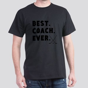 Best Coach Ever Hockey T-Shirt