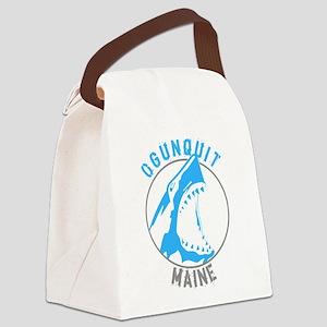 Summer ogunquit- maine Canvas Lunch Bag