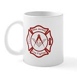 New Jersey Masons Fire Fighters Mug