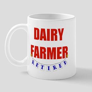 Retired Dairy Farmer Mug