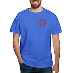 New York Masons Fire Fighters Dark T-Shirt
