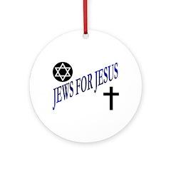 JEWS FOR JESUS Ornament (Round)