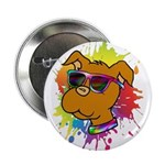 """Pitbull Puppy 2.25"""" Button (10 Pack)"""