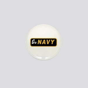 Go Navy Mini Button (10 pack)