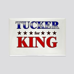 TUCKER for king Rectangle Magnet