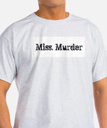 Miss. Murder T-Shirt