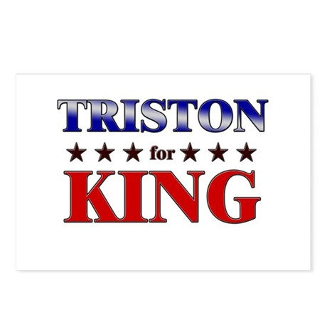 TRISTON for king Postcards (Package of 8)