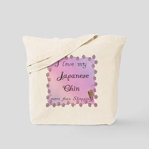 Chin Shopping Tote Bag