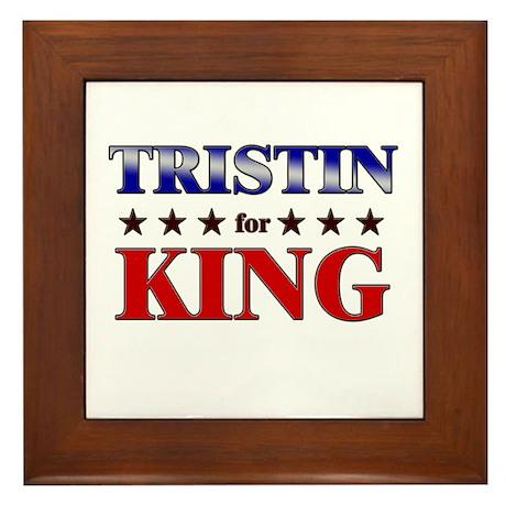 TRISTIN for king Framed Tile