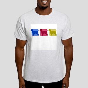 Color Row Welsh Springer Spaniel Light T-Shirt