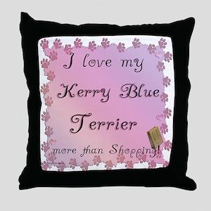 Kerry Shopping Throw Pillow