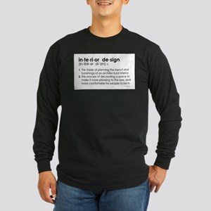 interior design DEFINITION Long Sleeve T-Shirt