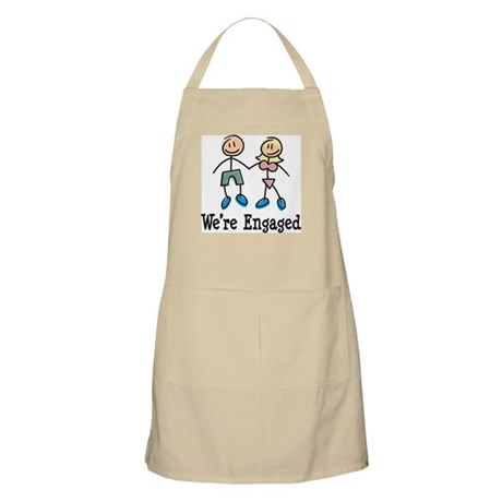 We're Engaged BBQ Apron