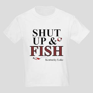 Shut Up & Fish Kids Light T-Shirt