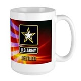 Army veteran Large Mugs (15 oz)