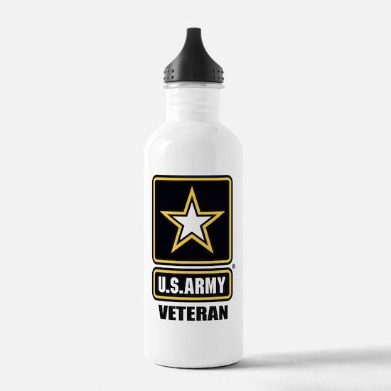 Army vet Water Bottle