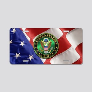 U.S. ARMY Aluminum License Plate