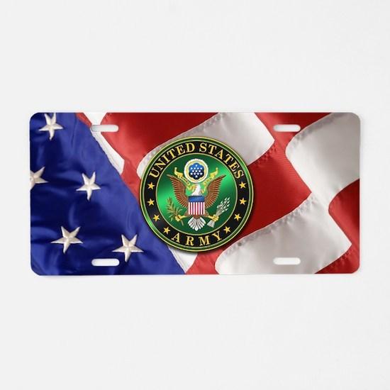 U.S. ARMY Aluminum License Plate